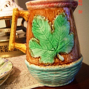 Majolica Small Pitcher Help Identify? - Pottery