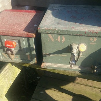 Vintage Beer jockey w/ Worm