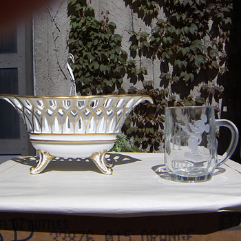 China-Porcelain Oval Lattice Dish - China and Dinnerware