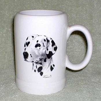 """Dalmatian"" Ceramic Mug"