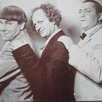 Comic Actors The Three Stooges  - Signs