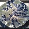 Japanese Ao Imari (blue/green Imari) Oval Scalloped Edge Dish/Bowl. Circa 19th Century