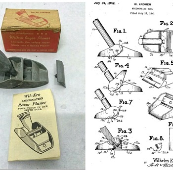 Wil-Kro Razor Planer - Tools and Hardware