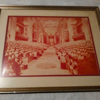 VINTAGE PHOTO OF THE VATICAN - Photographs