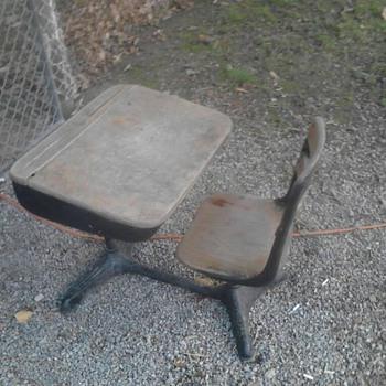 OLD School Desk - Furniture
