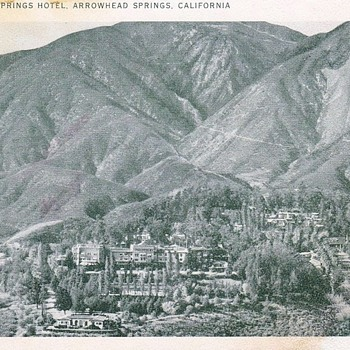 Arrowhead Springs Hotel Postcard - Postcards