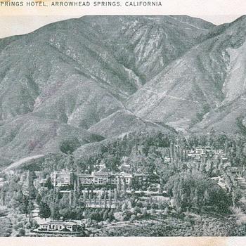 Arrowhead Springs Hotel Postcard - Postcards