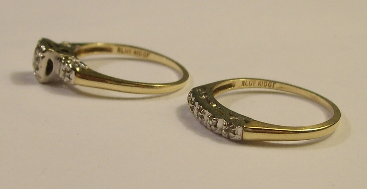 Vintage WeddingEngagement Set 1950s Collectors Weekly