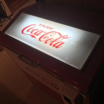 Update: Cornelius SVM-48E3 Coca Cola Slider Cooler (1969) - Coca-Cola