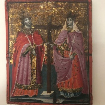 Russian or Greek Icon - Fine Art