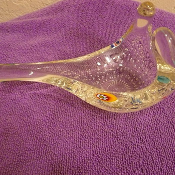 Pipe rest - Art Glass