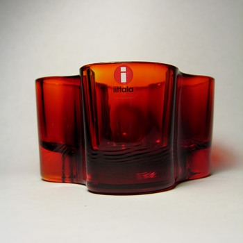 ALVAR AALTO FOR IITTALA - FINLAND  - Art Glass