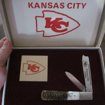 Kansas City Chiefs copperhead knife
