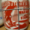 "SANTA CLARA CREAMERY CALIFORNIA ..""STAMP OUT THE AXIS"" WAR SLOGAN MILK BOTTLE"