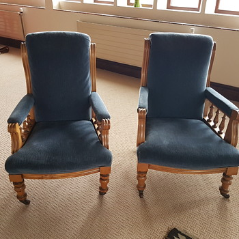 Recently purchased chairs unknown age - Furniture
