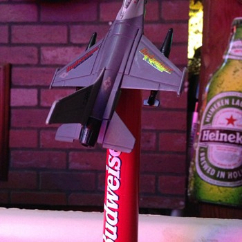 Budweiser Air Force F-16 Tap