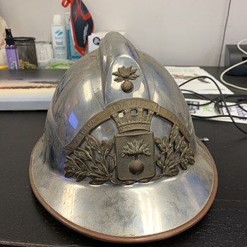 1920's French Firefighter Helmet - Firefighting