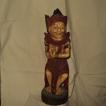 cool Balinese wood carving