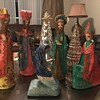 Vintage Mexican Nativity scene