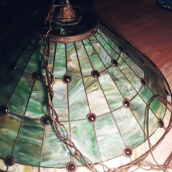 A hanging lamp from my  grandparents or before - Lamps