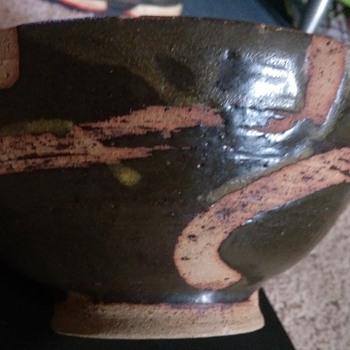 studio pottery bowl - Pottery