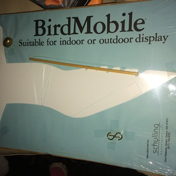 1986 bird mobile in perfect condition sealed