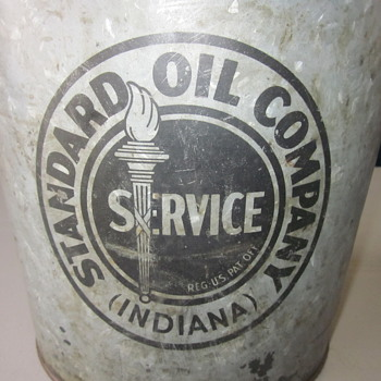 Standard Oil Axle Grease Large Tin  - Petroliana