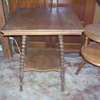 antique square table - Furniture