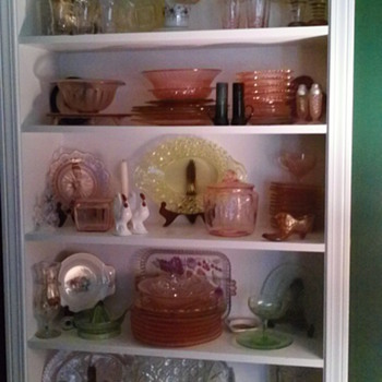 Depression glass, etc. - Glassware