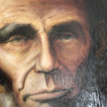 President Lincoln Portrait - Fine Art