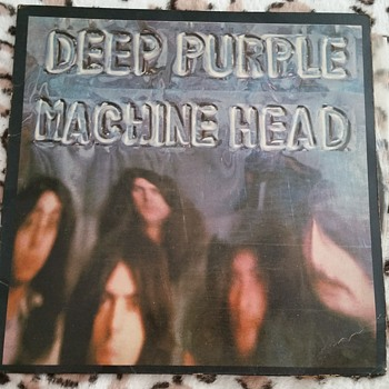 Deep Purple Machine Head Vinyl - Music Memorabilia