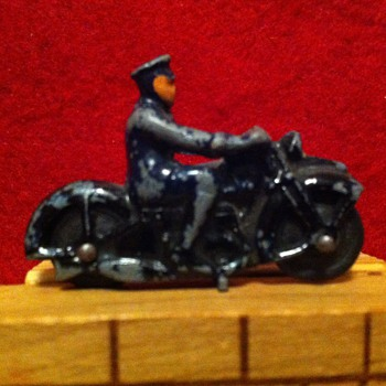 Matchbox Police cycle - Motorcycles