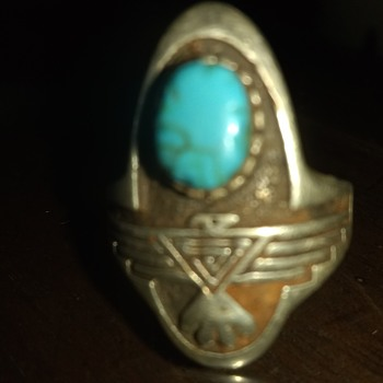 Ring... Turquoise, Sterling. C, $ - Fine Jewelry
