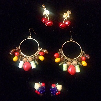 Feeling Fruity Friday - Costume Jewelry