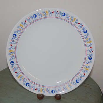 Pillsbury Doughboy Plate - Advertising