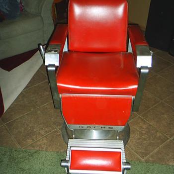1962 Kochs Barber Chair - Furniture