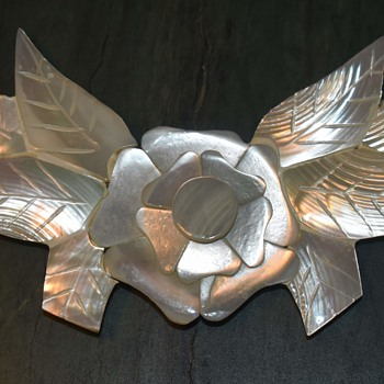 Carved Mother of Pearl Broach? - Fine Jewelry