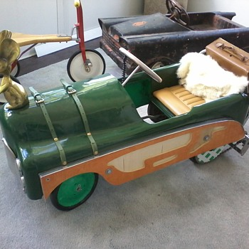 """Pedal Assist"" Thistle pedal car T30 ( before and after) - Model Cars"