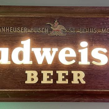 Budweiser Light  - Breweriana
