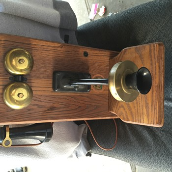 1911 western electric wall phone, Seth Thomas Mantle Clock...etc