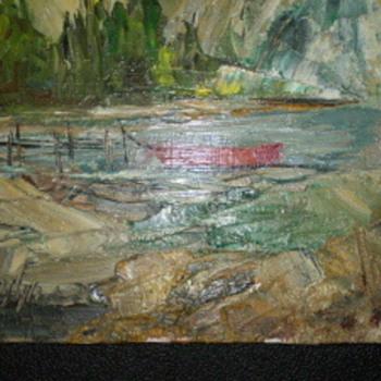 Varley Painting? - Fine Art