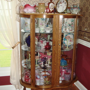 My Victorian Art Glass Collection - Art Glass
