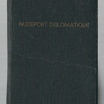 1942 Government In-Exile diplomatic passpsort