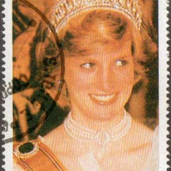 "1997 - St. Thomas & Prince Islds. - ""Princess Diana"" Postage Stamps - Stamps"