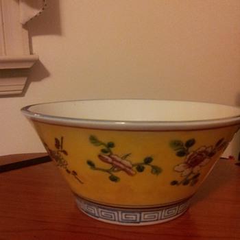 Favorite yellow bowl - Pottery