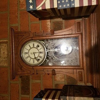 My Waterbury Mantle Clock