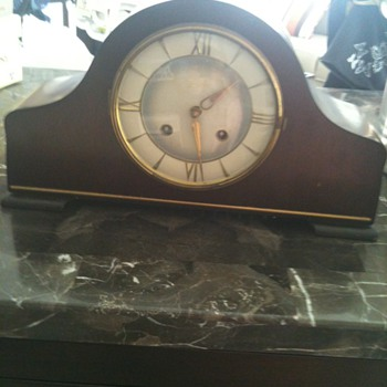 Jungham, Made in Germany, mantel clock - Clocks