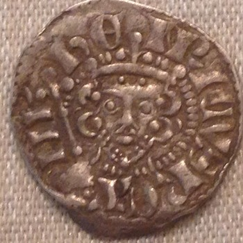 A Nice Long Cross Penny of Henry III - World Coins