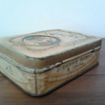 Tea box Hornimans Centenary of Chile - Advertising