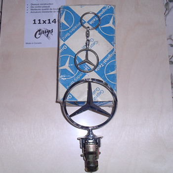 Mercedes Benz hood ornament and key chain. - Classic Cars